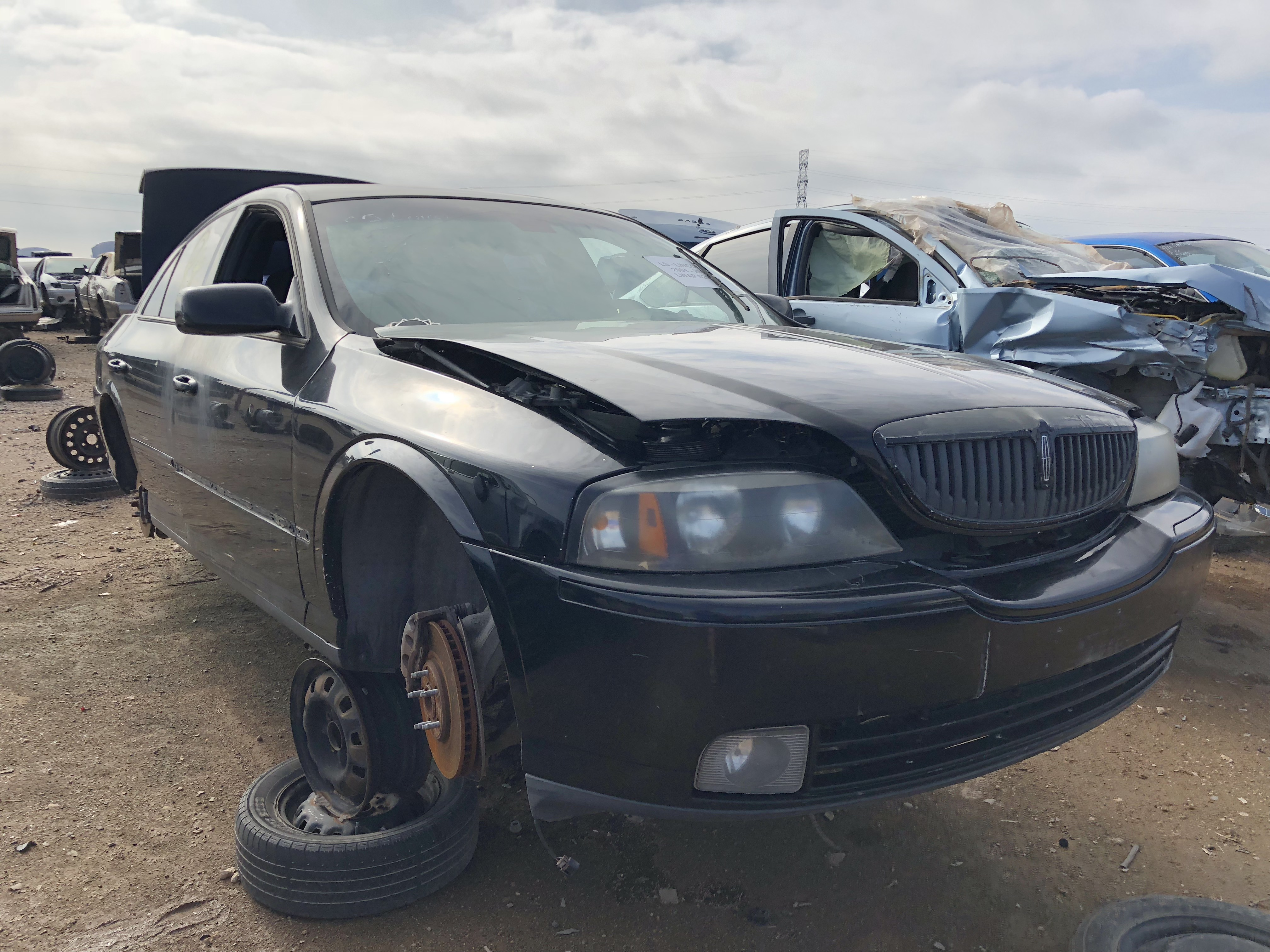 Lincoln Ls 2005 Lubbock Used Auto Parts Sell Your Car For Cash