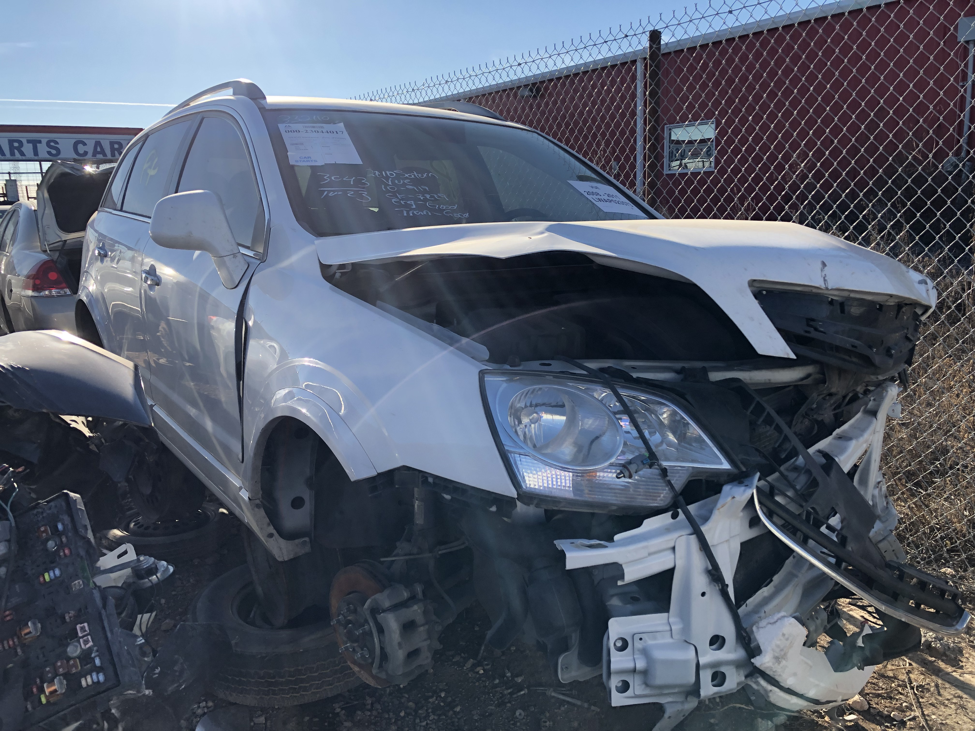 Saturn Vue 2010 Lubbock Used Auto Parts Sell Your Car For Cash