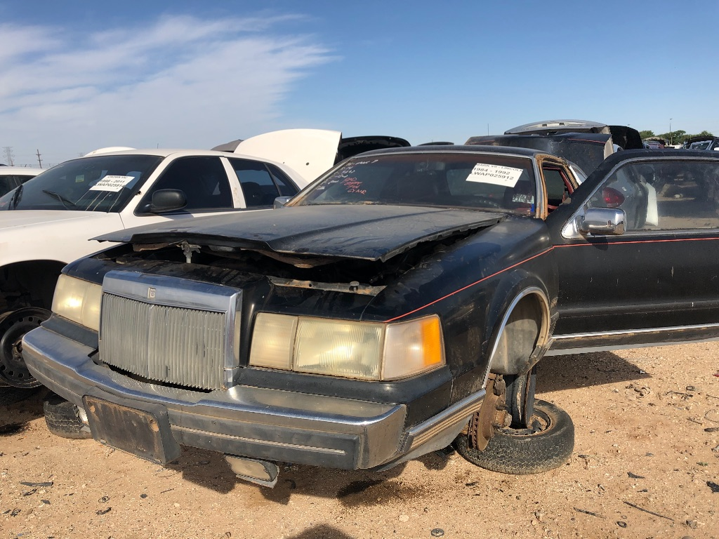 LINCOLN   MARK VII   1986   LUBBOCK - Used Auto Parts   Sell